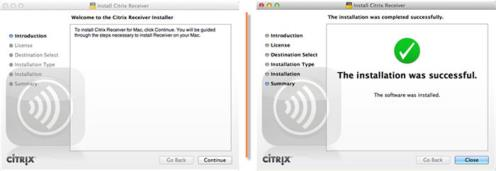 Installing Citrix For Mac